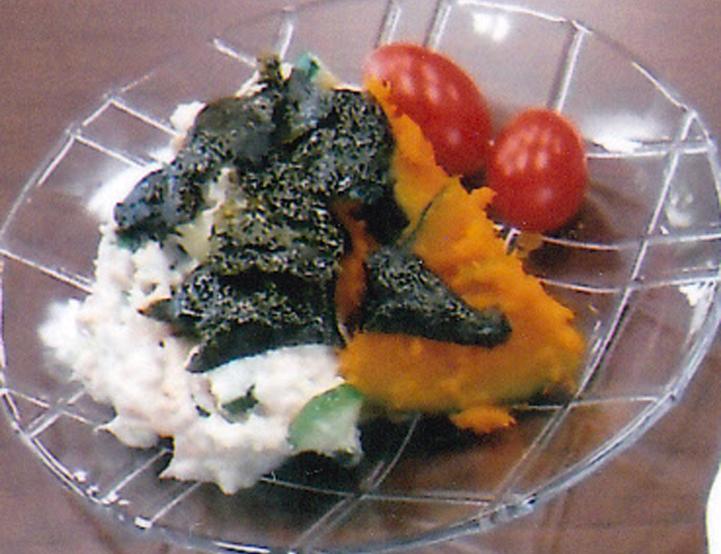 かぼちゃのサラダ~豆腐ソース添え~